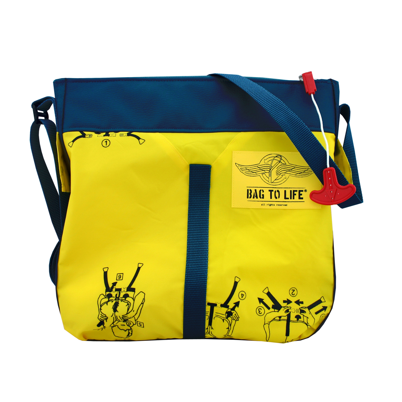 Classic Flyer Bag blau