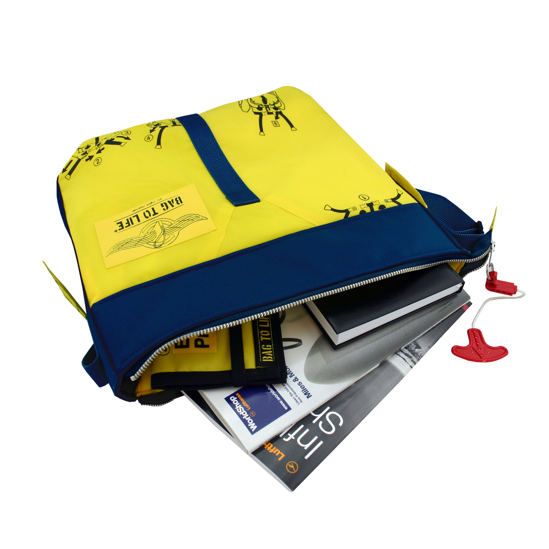 Classic Flyer Bag blau - Umhängetasche