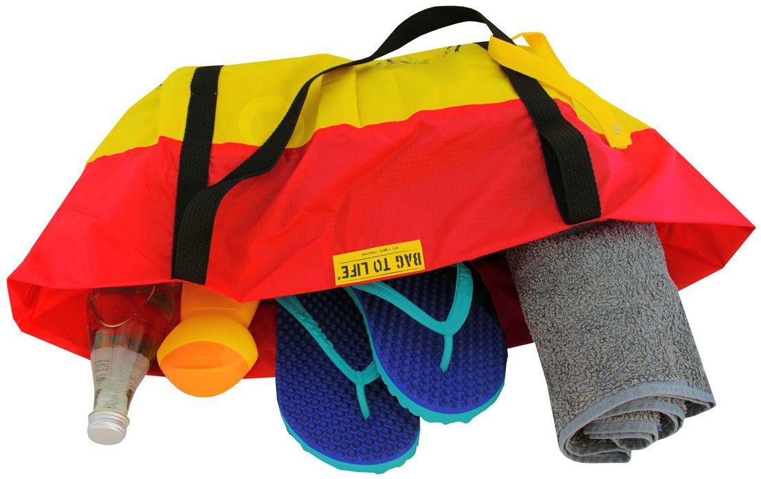 Airlie Beach Bag rot - Strandtasche