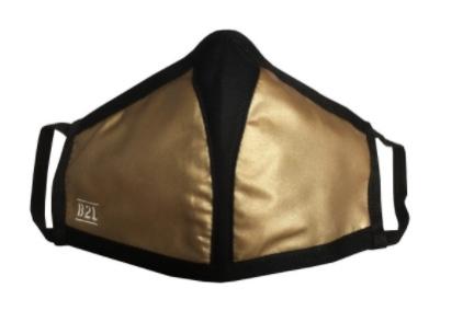 Travel Safe Mask Sonderedition gold - Gesichtsmaske