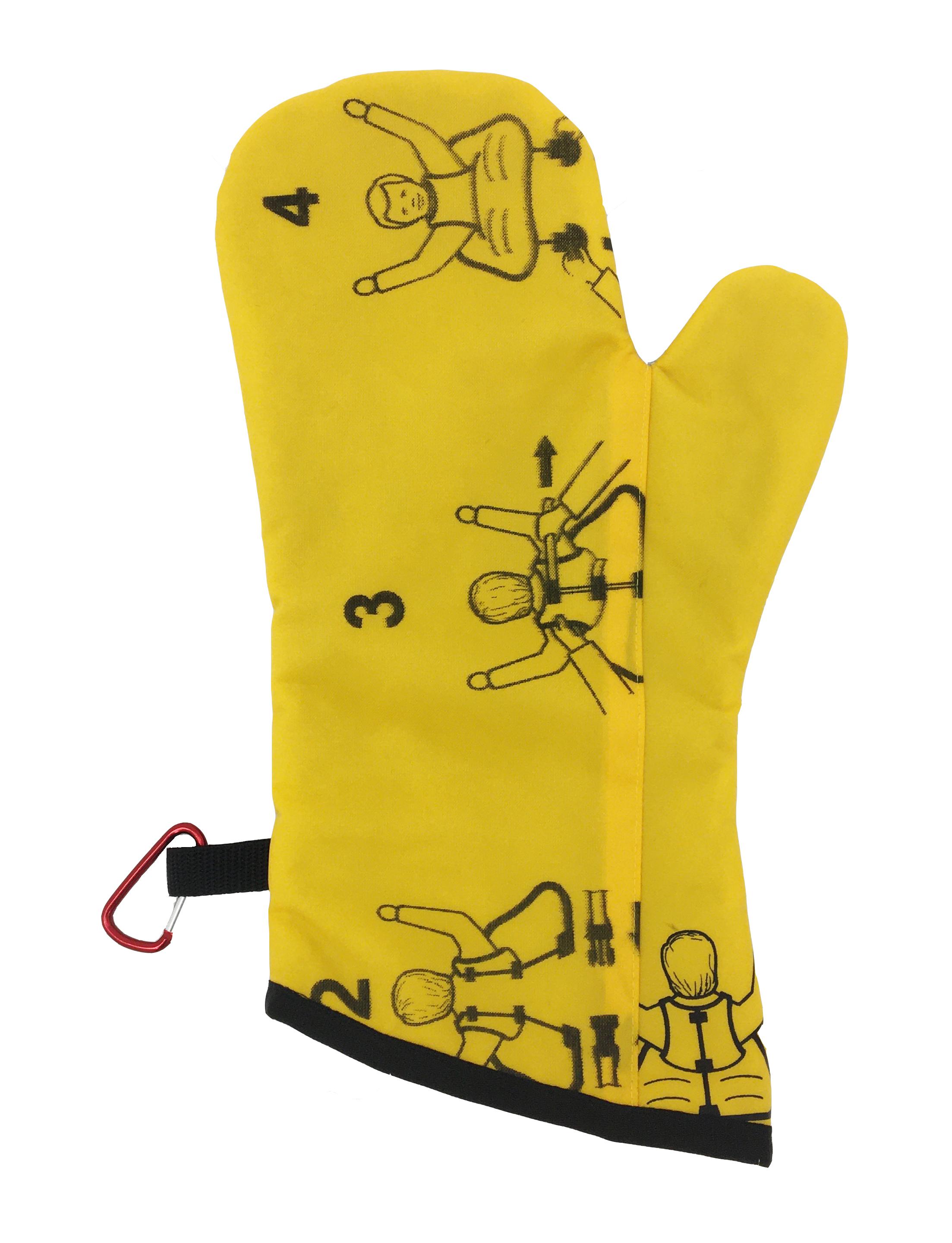 Linkshänder Grillhandschuh Galley BBQ Glove - Ofenhandschuh
