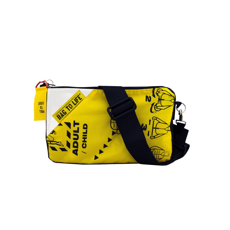 Follow Me Bag weiß - Umhängetasche