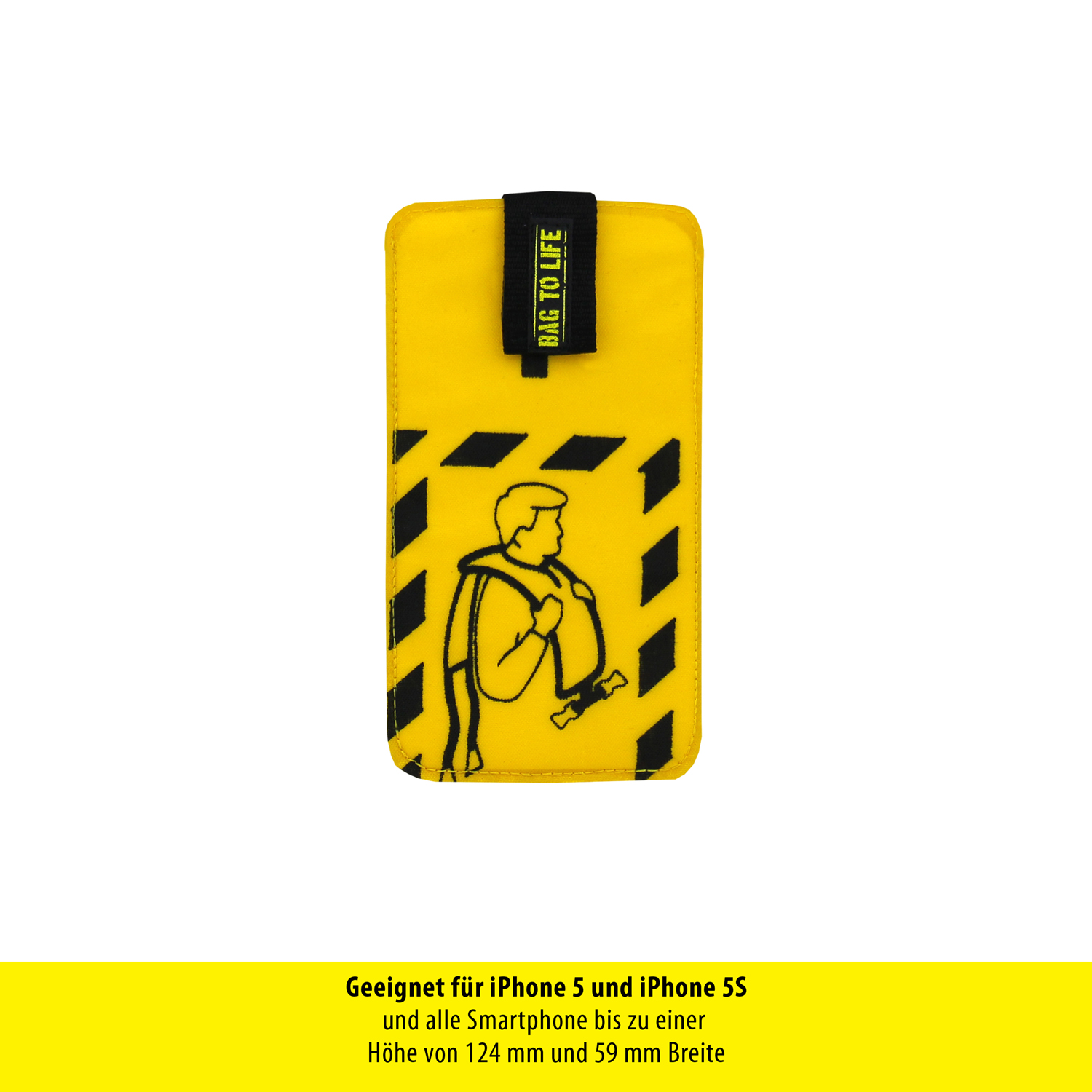Check in Smartphone Sleeve Small  12,4 x 5,9 cm