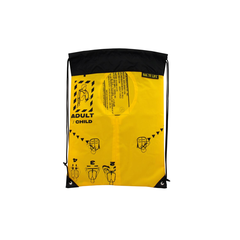 Sky Gym Bag schwarz - Turnbeutel